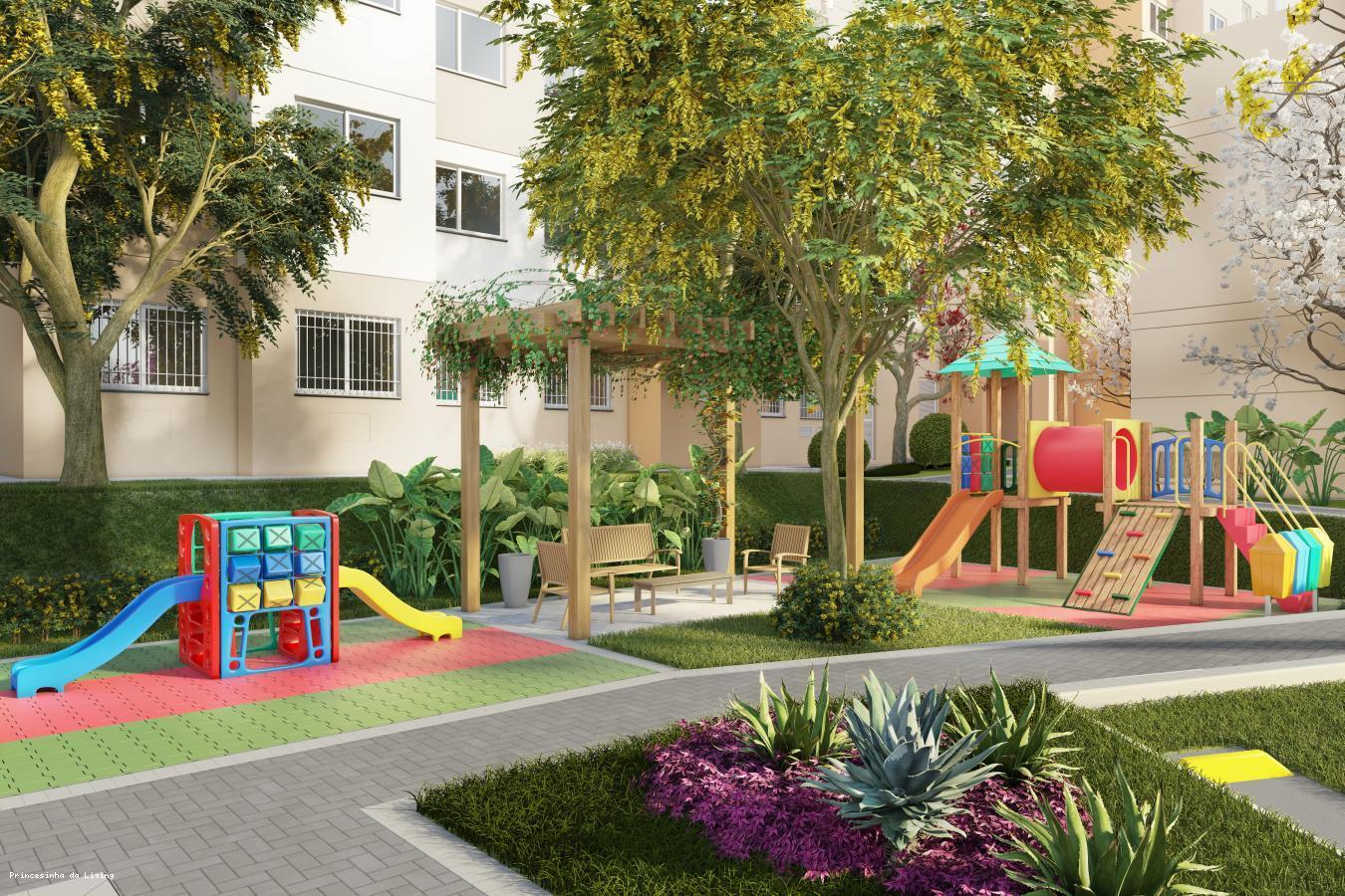 Apartamento para Venda em Nova Iguaçu, Parque Rosário, 2 dormitórios, 1 banheiro, 1 vaga